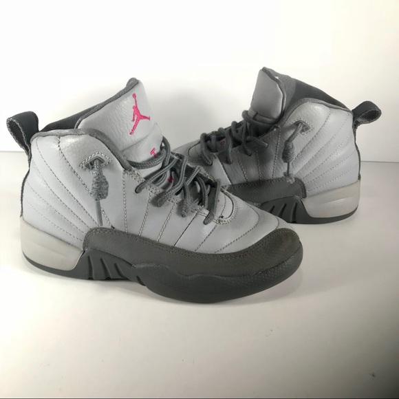 low priced ee7df 86bc9 JORDAN Nike Air Jordan Retro 12 Kids Sneaker 13C